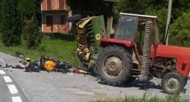 Tijekom proteklog vikenda evidentirane su tri prometne nesreće, jedna sa smrtno stradalim motociklistom