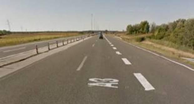 Prometna nesreća kod odmorišta Sredanci, sudar osobnog i teretnog automobila