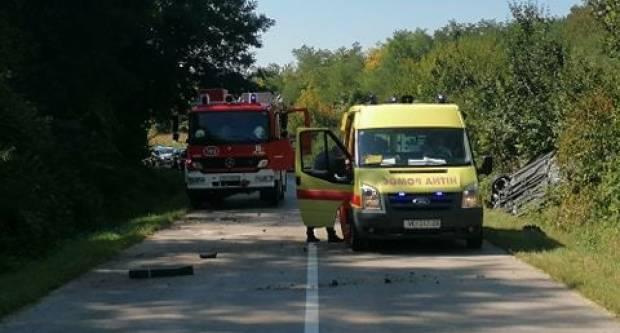 Teška prometna nesreća u Vučedolu