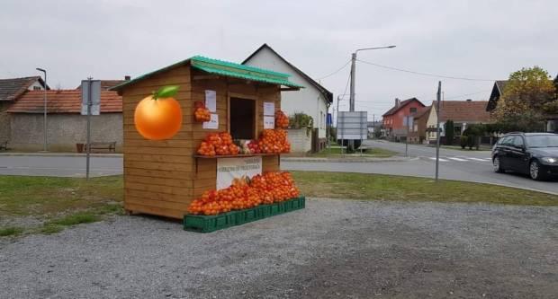Prodaja jedinstvenih neretvanskih mandarina na nekoliko lokacija u Požegi, Jakšiću i Brestovcu