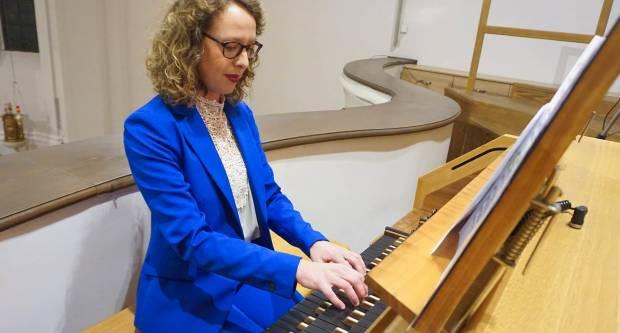 Orguljaški koncert Josipe Leko u požeškoj Katedrali