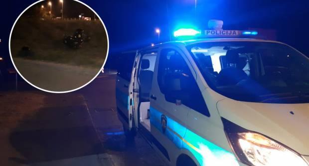 Teško ozlijeđen motociklist u ʺŠirokojʺ ulici