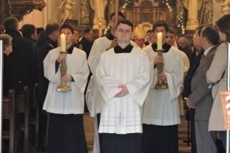 Uskršnja misa u požeškoj katedrali