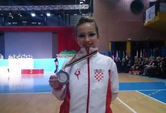 Požežanka Hana Ledić peta na svijetu u twirlingu