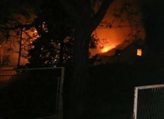 Gorio krov stare škole; još se ne zna uzrok požara (foto)
