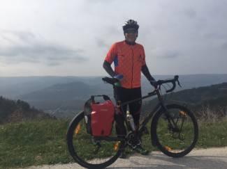 Mario se priprema za veliki pothvat: Biciklom će prijeći od Dubrovnika do Azerbajdžana