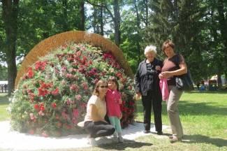 Sajam cvijeća u Lipiku 2015.