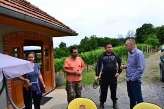 Požeški vinogradari uređuju put do Domovinskog križa