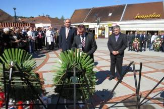 Dan državnosti RH: Polaganje vijenaca na spomen obilježju 123. brigade
