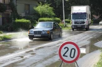 Kaos u Zvonimirovoj: Pukla cijev, Sajmište ostalo bez vode (foto)