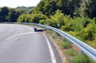 40-godišnja putnica teško ozlijeđena prilikom pada s motocikla