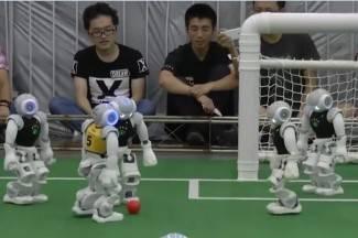 Roboti igraju nogomet: Australija pobijedila Njemačku (video)