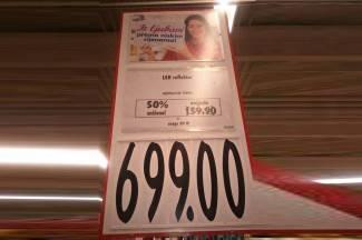 Iz ljubavi prema niskim cijenama: Sniženo 50 posto skuplje četiri puta?