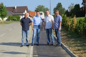 Zelena i Martićeva dobile nogostup: ¨Slijedi rekonstrukcija Krešimirove i Starčevićeve¨