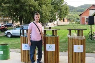 Eko punktovi u Viškovcima: ¨Napravili smo reciklažne točke sami, uskoro uređujemo igralište¨