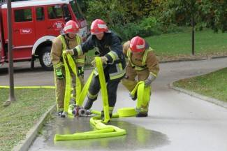 Ispumpavanje vode, gašenje požara i nadziranje izgaranja čađi