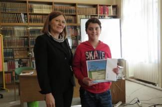 Roberto i Ida su najbolji čitači naglas, putuju u Sisak na državno natjecanje