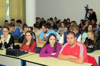 Studenti VUP-a slušaju predavanja francuskih profesora i slovenskog poduzetnika