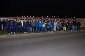 Mladi iz PUME zapalili svijeće za Vukovar