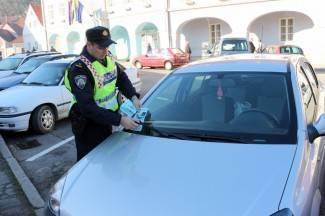 Od 960 prekršaja, čak 150 se odnosi na nepropisno parkiranje na žutim mjestima