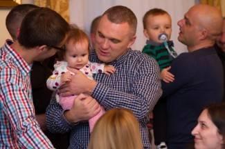 Prijem beba kod gradonačelnika Vedrana Neferovića, 8.12.2015.