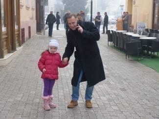 Požega: Maglovita šetnja Požegom, 12.12.2015.