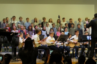 Predškolski zbor i najmlađi tamburaši otvorili koncertni program Glazbene škole