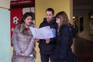 Pjevali božićne pjesme u pješačkoj zoni: Jako je lijepo građanima uljepšati blagdane