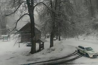 Zima se vraća; na Papuku od jutros pada snijeg