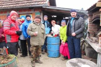 Uz vino i grah planinari proslavili Vincelovo na Viljevu