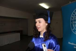 Promocija diplomanata na VUP-u: Nadam se da će se situacija popraviti i da ću naći posao