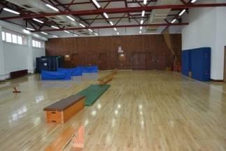 Sanacija i uređenje unutarnjih prostora dvorane Tomislav Pirc