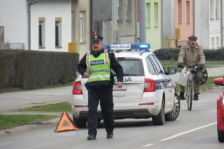 56-godišnjak skrivio prometnu pod utjecajem alkohola i pobjegao, policija ga naknadno pronašla