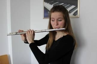 Mlada flautistica: Glazba je opuštajuća aktivnost uz koju se uvijek možemo zabaviti