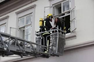 Pokazna vježba spašavanja djelatnika Gradske kuće, 1.3.2016.