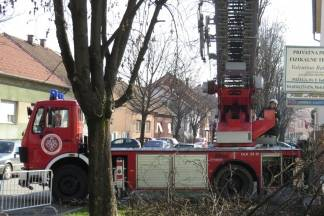 Vatrogasci uklanjali stabla s prometnica i sanirali krovišta nakon nevremena