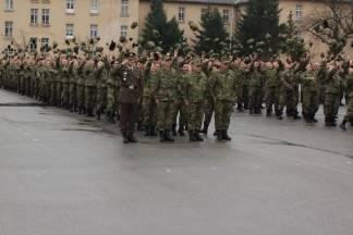 Svečana prisega u požeškoj vojarni, 12.3.2016.