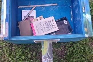 Uništena mini knjižnica: ¨Materijalna šteta je zanemariva u odnosu na poruku koju dobivamo¨