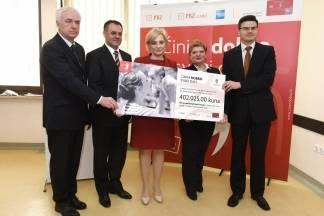 PBZ grupa požeškoj bolnici donirala 402.000 kn za dijagnostiku i liječenje djece