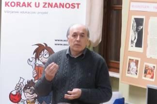 Korado Korlević u Požegi:¨Školstvo je loše, a to je zrcalo zajednice u kojoj živimo¨