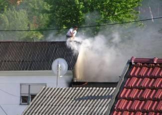 Uslikao čitatelj: Gašenje požara na Gospinom brdu