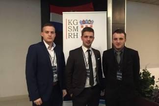 Članovi Savjeta mladih Grada Požege na konferenciji ¨Mladi i EU¨