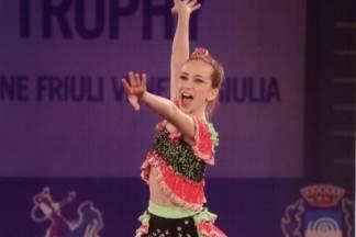 11-godišnja Požežanka Hana Ledić na europskom postolju; druga je twirlingašica u Europi