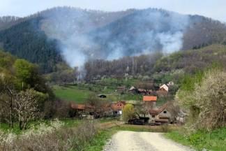 Gori šuma u Škrabutniku; na terenu 20-ak vatrogasaca