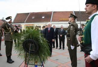 Predsjednik odao počast poginulim braniteljima 123. brigade