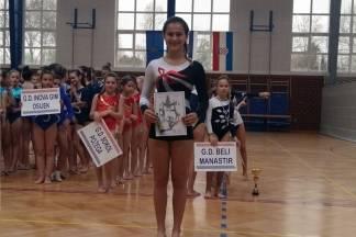 Gimnastičarka Madlen Majetić prva u juniorkama u 1. kolu Kupa regije istok za Kup Hrvatske