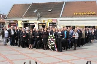 Dan županije: Polaganje vijenaca na Trgu 123. brigade
