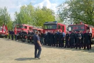 Vatrogasna vježba i proslava Sv. Florijana u Zakorenju, 8.5.2016.