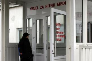 Ulaz u bolnicu za teže pokretne je preko Hitne pomoći