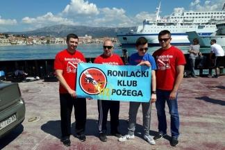 Požeški ronioci u Splitu:¨Previše je ljudske neodgovornosti, zagađene su rijeke, mora i jezera¨